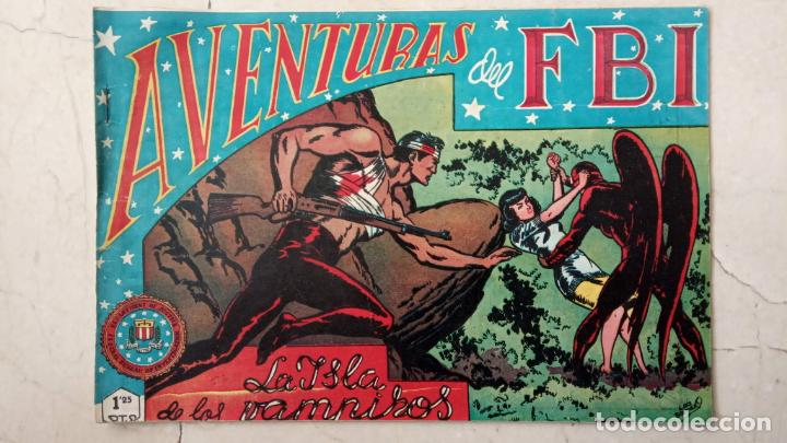 Tebeos: AVENTURAS DEL FBI ORIGINALES LOTE DE 78 NºS DEL 1 AL 165 - BUEN-MUY BUEN ESTADO - VER TODAS PORTADAS - Foto 16 - 150580062