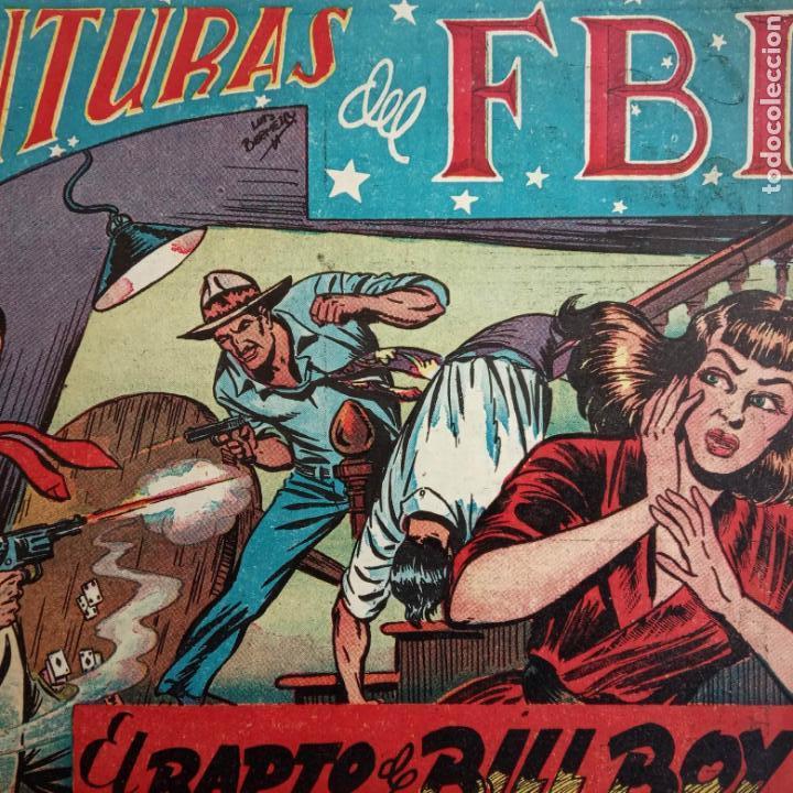 Tebeos: AVENTURAS DEL FBI ORIGINALES LOTE DE 78 NºS DEL 1 AL 165 - BUEN-MUY BUEN ESTADO - VER TODAS PORTADAS - Foto 18 - 150580062