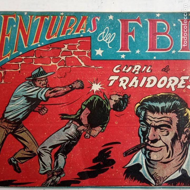 Tebeos: AVENTURAS DEL FBI ORIGINALES LOTE DE 78 NºS DEL 1 AL 165 - BUEN-MUY BUEN ESTADO - VER TODAS PORTADAS - Foto 19 - 150580062
