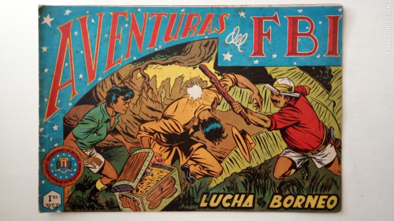 Tebeos: AVENTURAS DEL FBI ORIGINALES LOTE DE 78 NºS DEL 1 AL 165 - BUEN-MUY BUEN ESTADO - VER TODAS PORTADAS - Foto 20 - 150580062