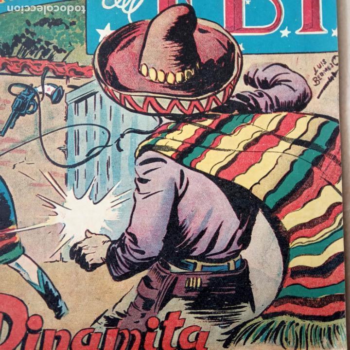 Tebeos: AVENTURAS DEL FBI ORIGINALES LOTE DE 78 NºS DEL 1 AL 165 - BUEN-MUY BUEN ESTADO - VER TODAS PORTADAS - Foto 35 - 150580062