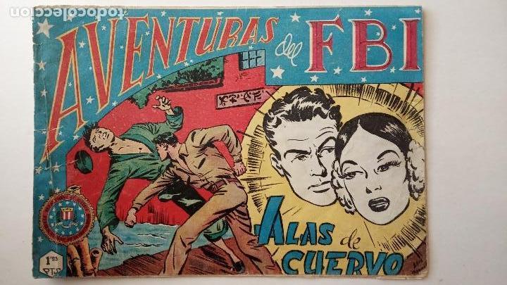 Tebeos: AVENTURAS DEL FBI ORIGINALES LOTE DE 78 NºS DEL 1 AL 165 - BUEN-MUY BUEN ESTADO - VER TODAS PORTADAS - Foto 36 - 150580062