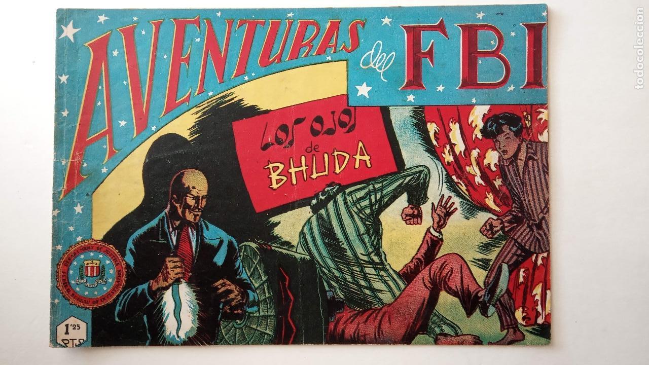 Tebeos: AVENTURAS DEL FBI ORIGINALES LOTE DE 78 NºS DEL 1 AL 165 - BUEN-MUY BUEN ESTADO - VER TODAS PORTADAS - Foto 37 - 150580062