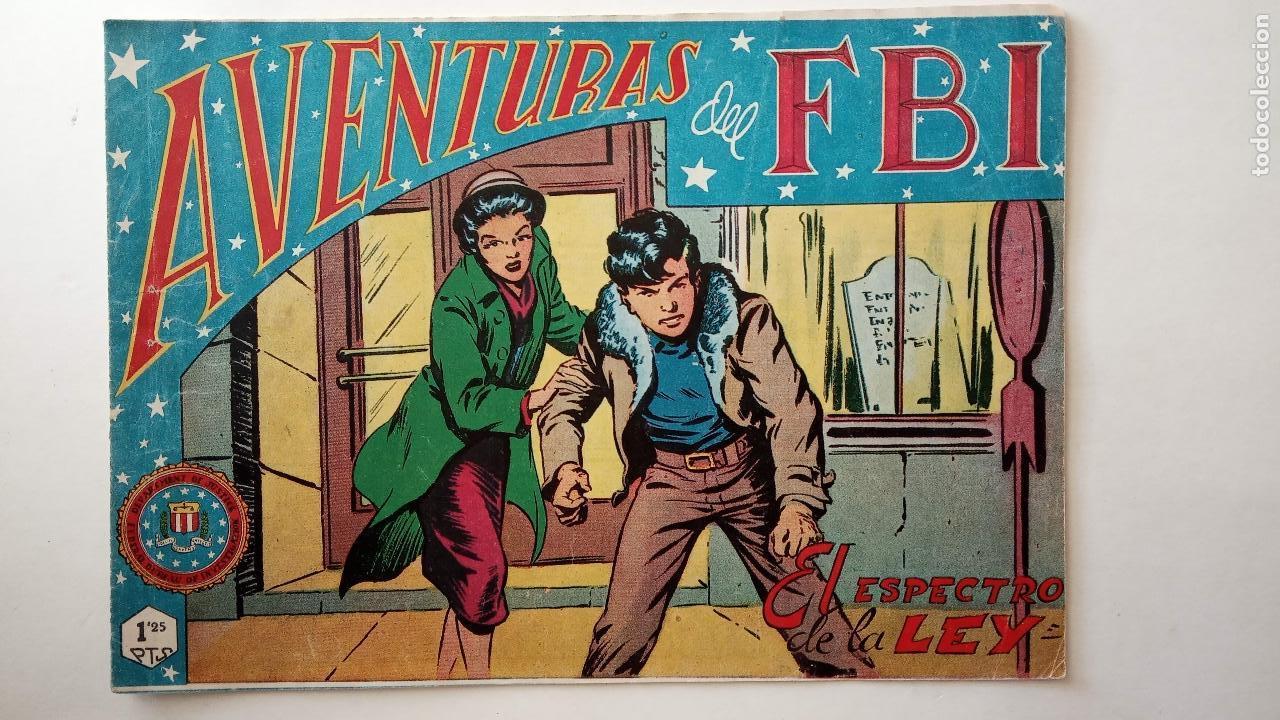 Tebeos: AVENTURAS DEL FBI ORIGINALES LOTE DE 78 NºS DEL 1 AL 165 - BUEN-MUY BUEN ESTADO - VER TODAS PORTADAS - Foto 38 - 150580062