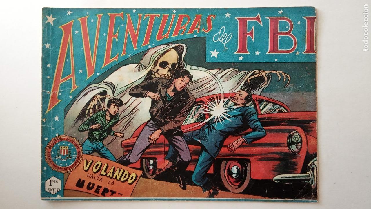 Tebeos: AVENTURAS DEL FBI ORIGINALES LOTE DE 78 NºS DEL 1 AL 165 - BUEN-MUY BUEN ESTADO - VER TODAS PORTADAS - Foto 39 - 150580062