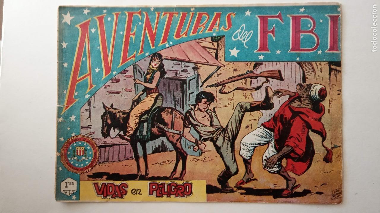 Tebeos: AVENTURAS DEL FBI ORIGINALES LOTE DE 78 NºS DEL 1 AL 165 - BUEN-MUY BUEN ESTADO - VER TODAS PORTADAS - Foto 42 - 150580062