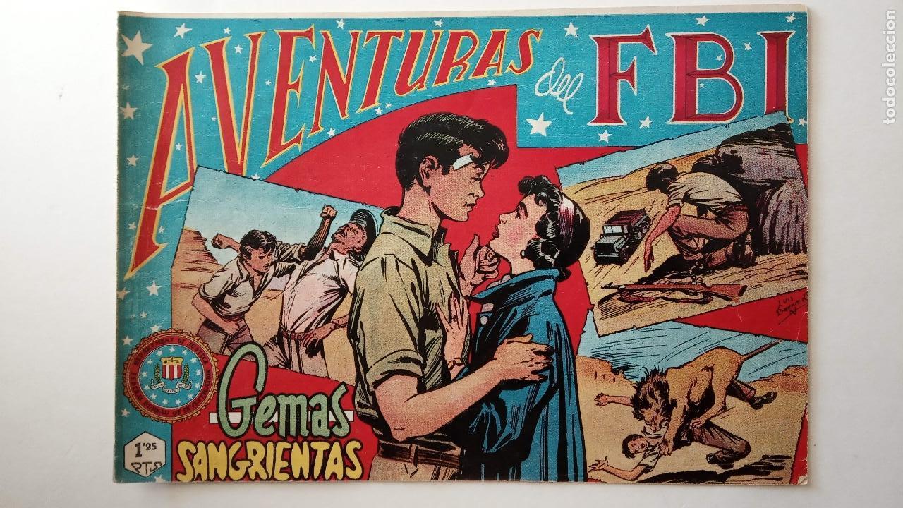 Tebeos: AVENTURAS DEL FBI ORIGINALES LOTE DE 78 NºS DEL 1 AL 165 - BUEN-MUY BUEN ESTADO - VER TODAS PORTADAS - Foto 49 - 150580062