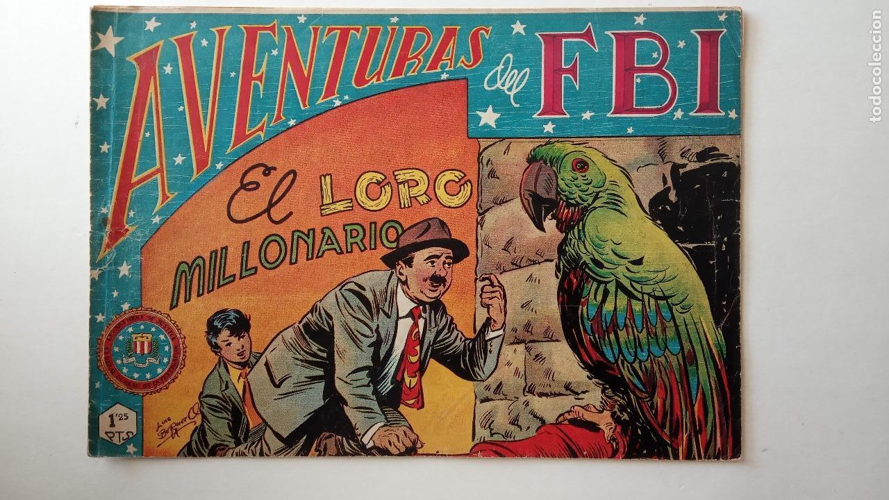 Tebeos: AVENTURAS DEL FBI ORIGINALES LOTE DE 78 NºS DEL 1 AL 165 - BUEN-MUY BUEN ESTADO - VER TODAS PORTADAS - Foto 54 - 150580062