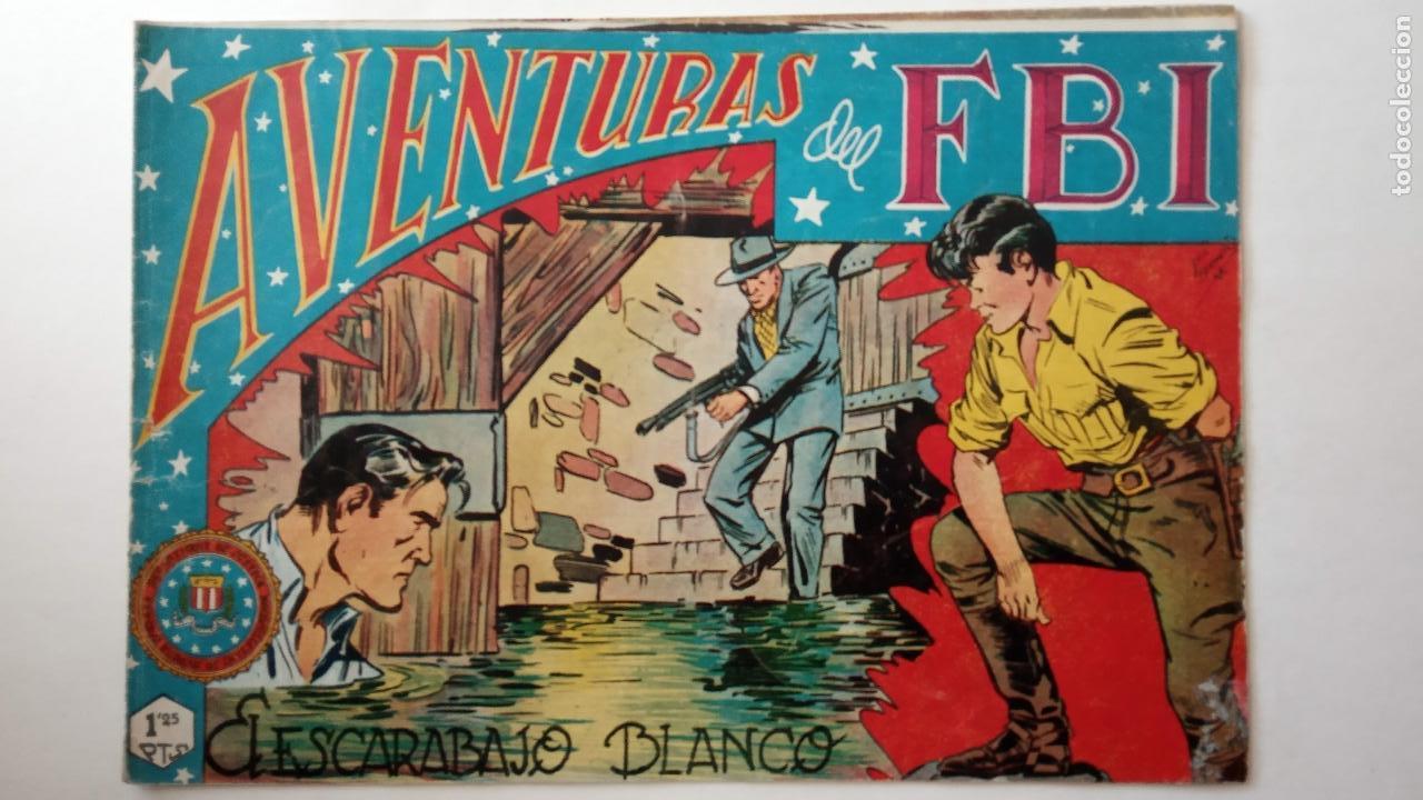 Tebeos: AVENTURAS DEL FBI ORIGINALES LOTE DE 78 NºS DEL 1 AL 165 - BUEN-MUY BUEN ESTADO - VER TODAS PORTADAS - Foto 60 - 150580062