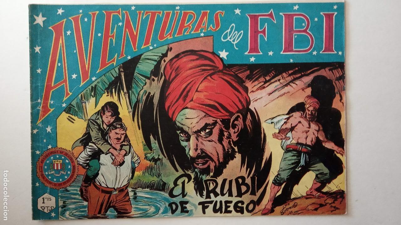 Tebeos: AVENTURAS DEL FBI ORIGINALES LOTE DE 78 NºS DEL 1 AL 165 - BUEN-MUY BUEN ESTADO - VER TODAS PORTADAS - Foto 65 - 150580062