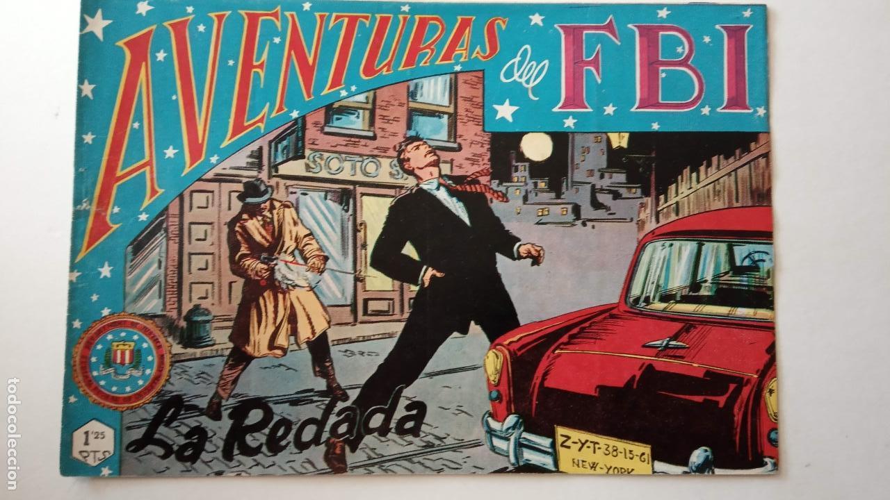 Tebeos: AVENTURAS DEL FBI ORIGINALES LOTE DE 78 NºS DEL 1 AL 165 - BUEN-MUY BUEN ESTADO - VER TODAS PORTADAS - Foto 67 - 150580062
