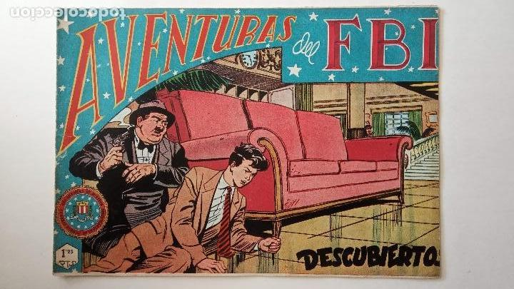 Tebeos: AVENTURAS DEL FBI ORIGINALES LOTE DE 78 NºS DEL 1 AL 165 - BUEN-MUY BUEN ESTADO - VER TODAS PORTADAS - Foto 68 - 150580062