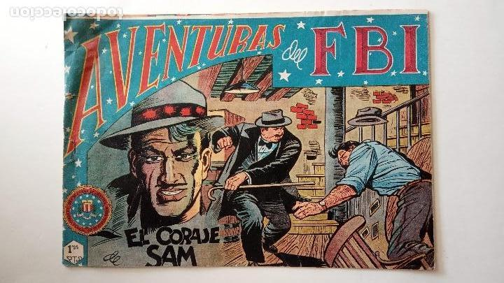 Tebeos: AVENTURAS DEL FBI ORIGINALES LOTE DE 78 NºS DEL 1 AL 165 - BUEN-MUY BUEN ESTADO - VER TODAS PORTADAS - Foto 69 - 150580062