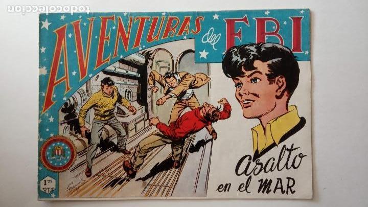 Tebeos: AVENTURAS DEL FBI ORIGINALES LOTE DE 78 NºS DEL 1 AL 165 - BUEN-MUY BUEN ESTADO - VER TODAS PORTADAS - Foto 72 - 150580062