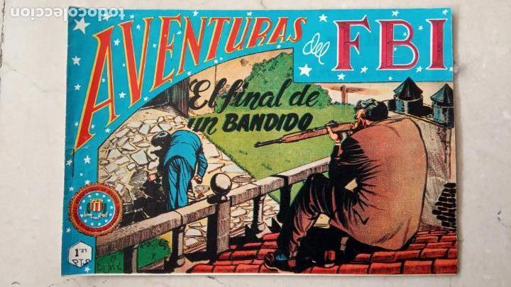 Tebeos: AVENTURAS DEL FBI ORIGINALES LOTE DE 78 NºS DEL 1 AL 165 - BUEN-MUY BUEN ESTADO - VER TODAS PORTADAS - Foto 85 - 150580062