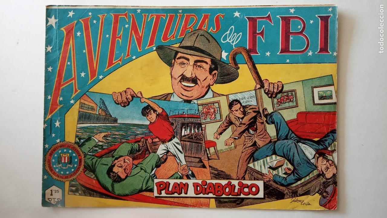 Tebeos: AVENTURAS DEL FBI ORIGINALES LOTE DE 78 NºS DEL 1 AL 165 - BUEN-MUY BUEN ESTADO - VER TODAS PORTADAS - Foto 94 - 150580062