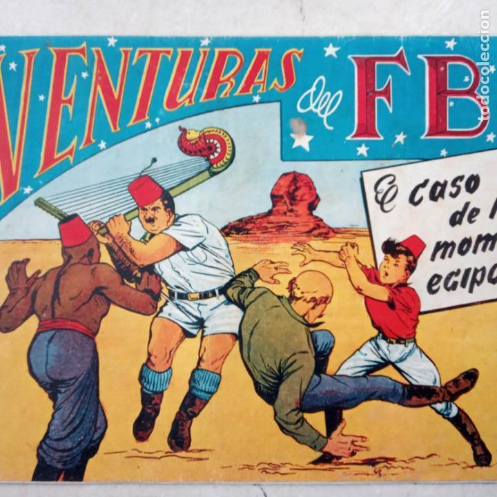 Tebeos: AVENTURAS DEL FBI ORIGINALES LOTE DE 78 NºS DEL 1 AL 165 - BUEN-MUY BUEN ESTADO - VER TODAS PORTADAS - Foto 98 - 150580062