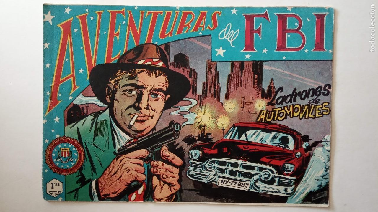 Tebeos: AVENTURAS DEL FBI ORIGINALES LOTE DE 78 NºS DEL 1 AL 165 - BUEN-MUY BUEN ESTADO - VER TODAS PORTADAS - Foto 104 - 150580062