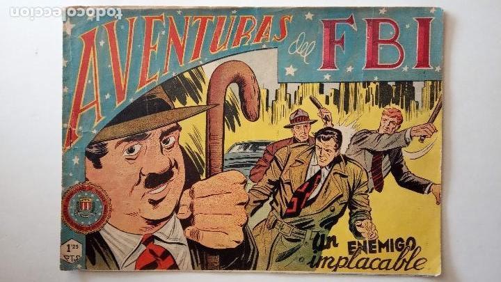 Tebeos: AVENTURAS DEL FBI ORIGINALES LOTE DE 78 NºS DEL 1 AL 165 - BUEN-MUY BUEN ESTADO - VER TODAS PORTADAS - Foto 108 - 150580062