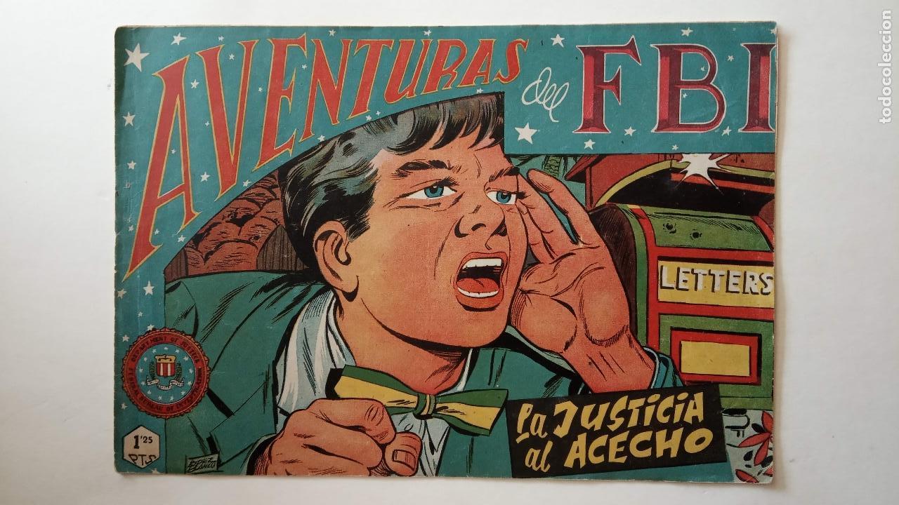 Tebeos: AVENTURAS DEL FBI ORIGINALES LOTE DE 78 NºS DEL 1 AL 165 - BUEN-MUY BUEN ESTADO - VER TODAS PORTADAS - Foto 110 - 150580062