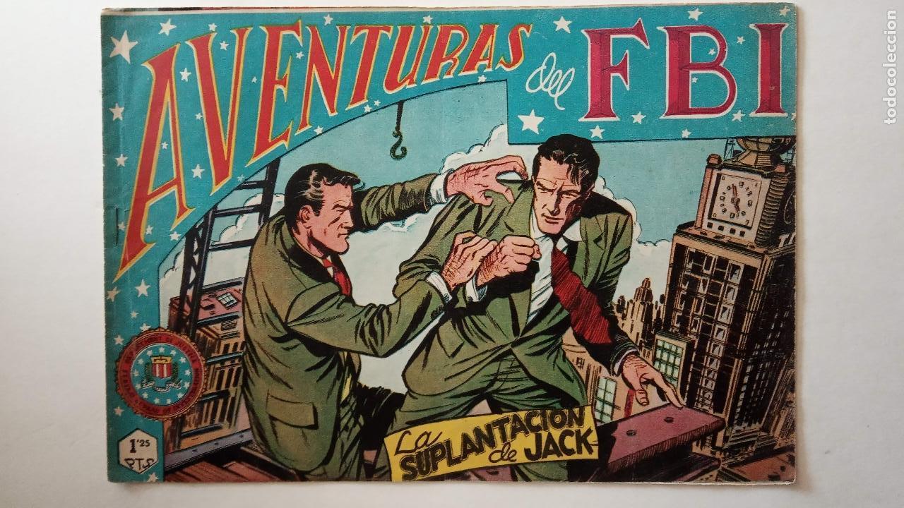 Tebeos: AVENTURAS DEL FBI ORIGINALES LOTE DE 78 NºS DEL 1 AL 165 - BUEN-MUY BUEN ESTADO - VER TODAS PORTADAS - Foto 111 - 150580062