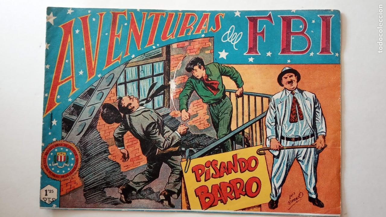 Tebeos: AVENTURAS DEL FBI ORIGINALES LOTE DE 78 NºS DEL 1 AL 165 - BUEN-MUY BUEN ESTADO - VER TODAS PORTADAS - Foto 129 - 150580062