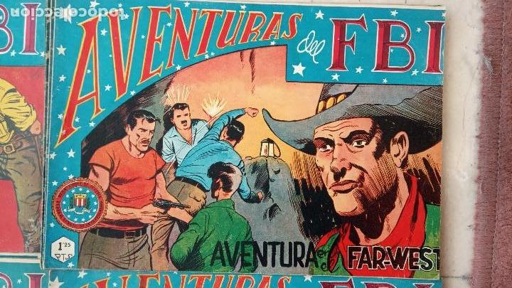 Tebeos: AVENTURAS DEL FBI ORIGINALES LOTE DE 78 NºS DEL 1 AL 165 - BUEN-MUY BUEN ESTADO - VER TODAS PORTADAS - Foto 140 - 150580062