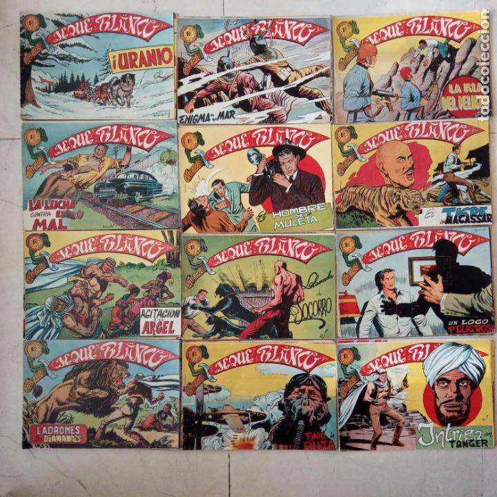 JEQUE BLANCO ORIGINAL 92 TEBEOS ENTRE EL 1 Y EL 136 VER TODAS LAS PORTADAS (Tebeos y Comics - Rollán - Jeque Blanco)
