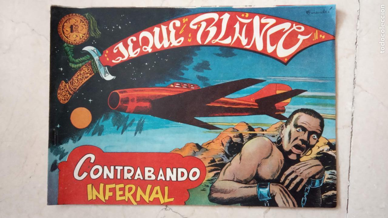 Tebeos: JEQUE BLANCO ORIGINAL 92 TEBEOS ENTRE EL 1 Y EL 136 VER TODAS LAS PORTADAS - Foto 4 - 150586594