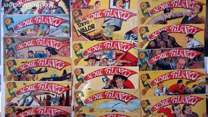 Tebeos: JEQUE BLANCO ORIGINAL 92 TEBEOS ENTRE EL 1 Y EL 136 VER TODAS LAS PORTADAS - Foto 13 - 150586594