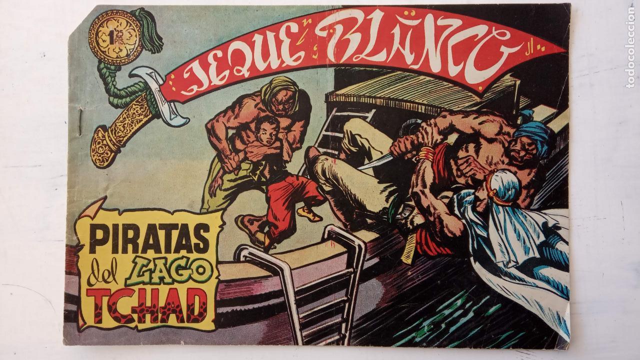 Tebeos: JEQUE BLANCO ORIGINAL 92 TEBEOS ENTRE EL 1 Y EL 136 VER TODAS LAS PORTADAS - Foto 33 - 150586594