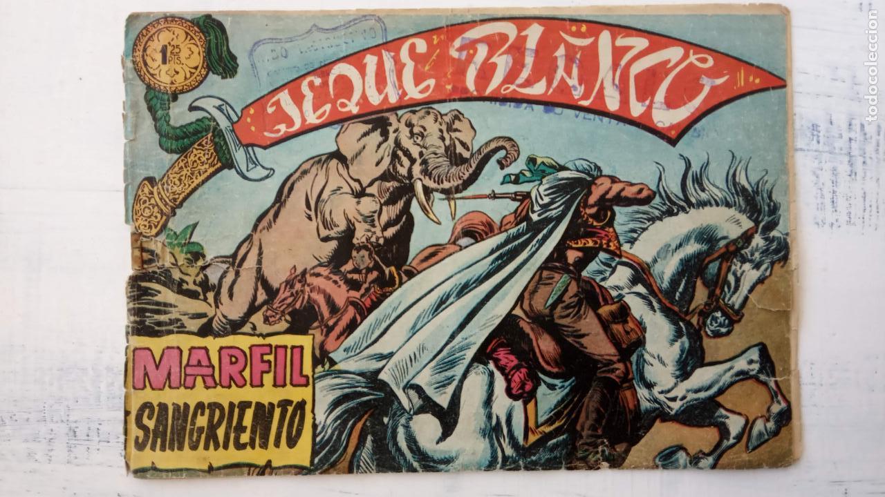 Tebeos: JEQUE BLANCO ORIGINAL 92 TEBEOS ENTRE EL 1 Y EL 136 VER TODAS LAS PORTADAS - Foto 39 - 150586594