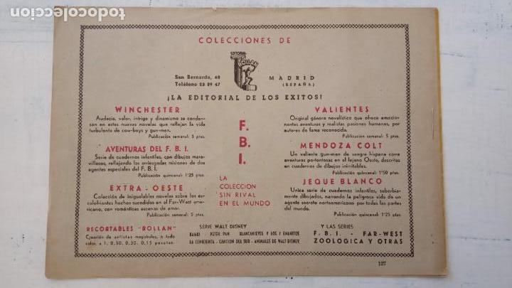 Tebeos: JEQUE BLANCO ORIGINAL 92 TEBEOS ENTRE EL 1 Y EL 136 VER TODAS LAS PORTADAS - Foto 42 - 150586594