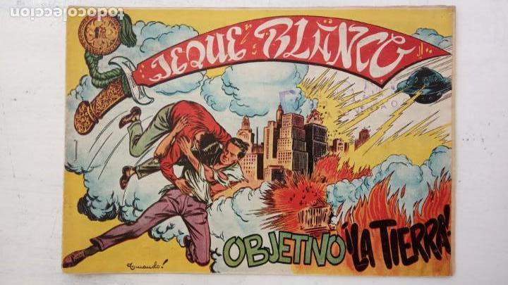 Tebeos: JEQUE BLANCO ORIGINAL 92 TEBEOS ENTRE EL 1 Y EL 136 VER TODAS LAS PORTADAS - Foto 44 - 150586594