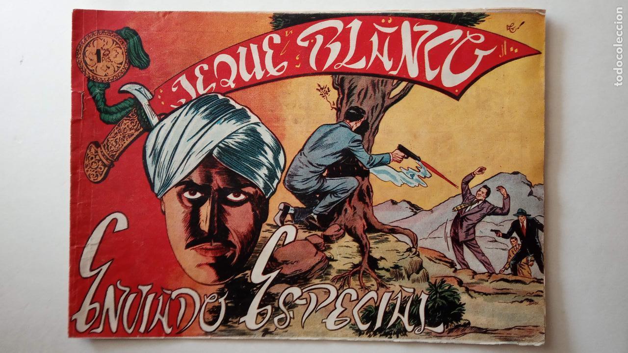 Tebeos: JEQUE BLANCO ORIGINAL 92 TEBEOS ENTRE EL 1 Y EL 136 VER TODAS LAS PORTADAS - Foto 104 - 150586594