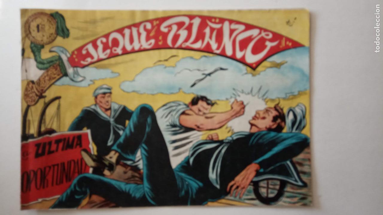 Tebeos: JEQUE BLANCO ORIGINAL 92 TEBEOS ENTRE EL 1 Y EL 136 VER TODAS LAS PORTADAS - Foto 109 - 150586594