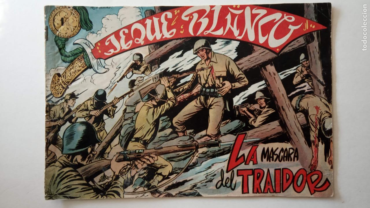 Tebeos: JEQUE BLANCO ORIGINAL 92 TEBEOS ENTRE EL 1 Y EL 136 VER TODAS LAS PORTADAS - Foto 124 - 150586594