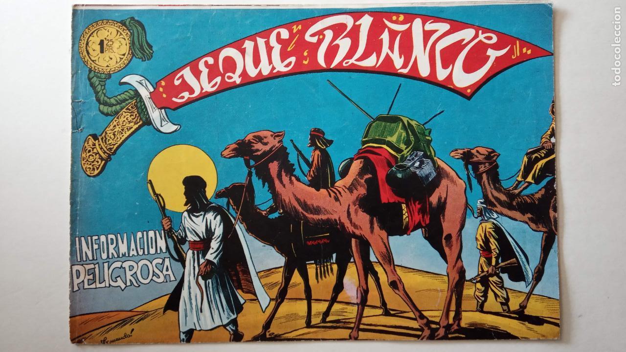 Tebeos: JEQUE BLANCO ORIGINAL 92 TEBEOS ENTRE EL 1 Y EL 136 VER TODAS LAS PORTADAS - Foto 131 - 150586594
