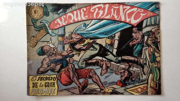 Tebeos: JEQUE BLANCO ORIGINAL 92 TEBEOS ENTRE EL 1 Y EL 136 VER TODAS LAS PORTADAS - Foto 139 - 150586594