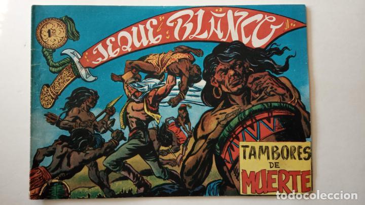 Tebeos: JEQUE BLANCO ORIGINAL 92 TEBEOS ENTRE EL 1 Y EL 136 VER TODAS LAS PORTADAS - Foto 163 - 150586594