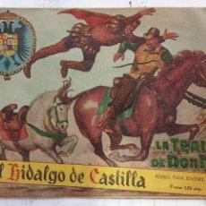 Tebeos: EL HIDALGO DE CASTILLA ORIGINAL Nº 1 - 1959 ROLLAN - A. ARNAU DIBUJOS - HU. Lote 151035966