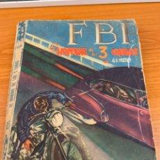 Tebeos: NOVELA FBI - N.15 - A.G.MURPHY - EL HOMBRE DE LAS 3 CARAS - EDITORIAL ROLLAN. Lote 151800052