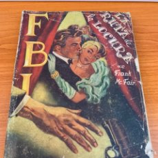 Tebeos: NOVELA FBI - N.8 - FRANK MCFAIR - LA RUTA DE LA LOCURA - EDITORIAL ROLLAN. Lote 151801045
