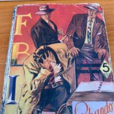 Tebeos: NOVELA FBI - N.5 - FRANK MCFAIR - LUCHANDO EN LA SOMBRA - EDITORIAL ROLLAN. Lote 151802017