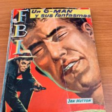 Tebeos: NOVELA FBI - N.417 - JAN HUTTON - UN G-MAN Y SUS FANTASMAS - EDITORIAL ROLLAN. Lote 151804021