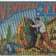 Tebeos: AVENTURAS DEL FBI Nº 130 (ROLLAN 1956). Lote 152030270
