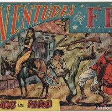 Tebeos: AVENTURAS DEL FBI Nº 47 (ROLLAN 1953). Lote 152031526