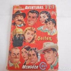 Tebeos: ROLLÁN EXTRAORDINARIO - DICIEMBRE DE 1957 -CON AVENTURAS DEL FBI, SAITÁN, MENDOZA COLT,. Lote 153490962