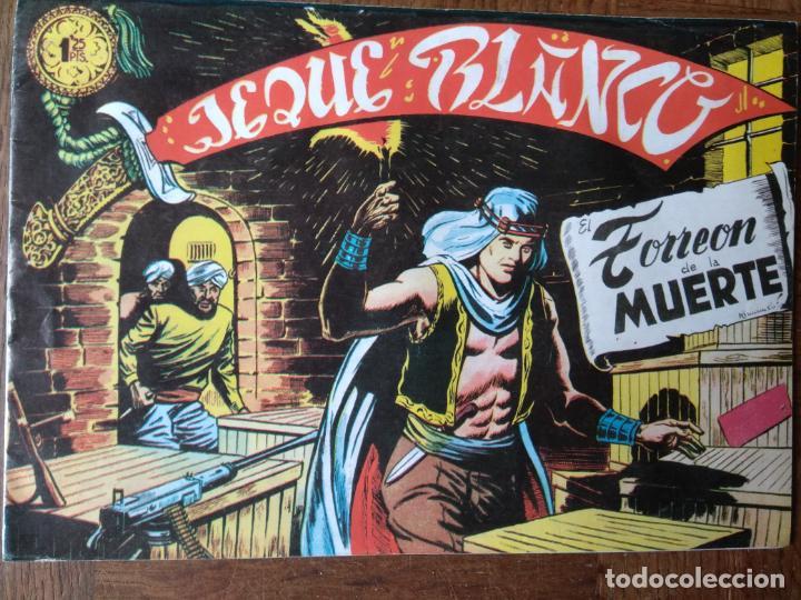 JEQUE BLANCO Nº 94 .TORREON DE LA MUERTE, 1982. FACSIMIL (Tebeos y Comics - Rollán - Jeque Blanco)