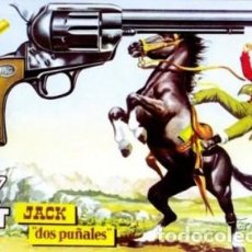 Tebeos: MENDOZA COLT- Nº 40 -JACK DOS PUÑALES-1958-GRAN MARTÍN SALVADOR-CORRECTO-LEAN-0442. Lote 154325862
